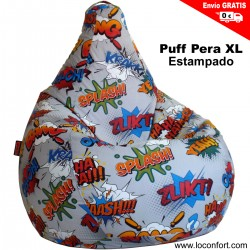 PUFF PERA XL COMIC